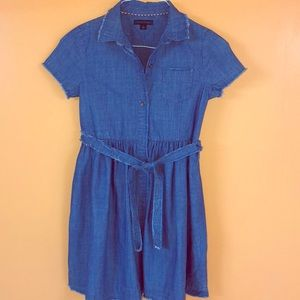 Denim Tommy Hilfiger Dress For Girls